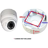 Evertech White 4.75 Camera Big Deep Base Junction Outlet Box for Varifocal Adjustable Lens Eyeball Turret Dome CCTV Security Cameras