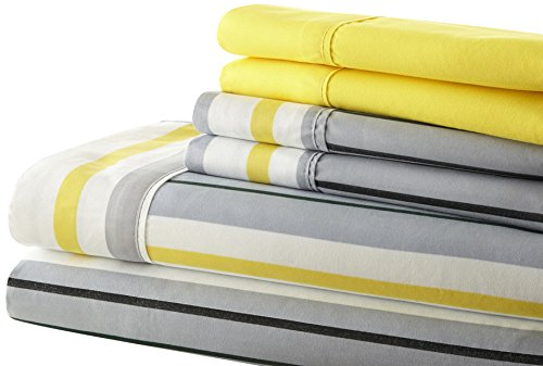 Spirit Linen Hotel 5Th Ave Palazzo Home 6-Piece Luxurious Pr