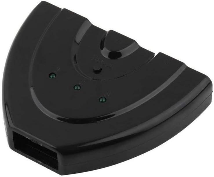 Mandalaa Universal 3 Port Auto Hdmi Switch Switcher Splitter Hub Box Adapter 3D Full Hd 1080P for HDTV Computer Projector LCD Tv Player