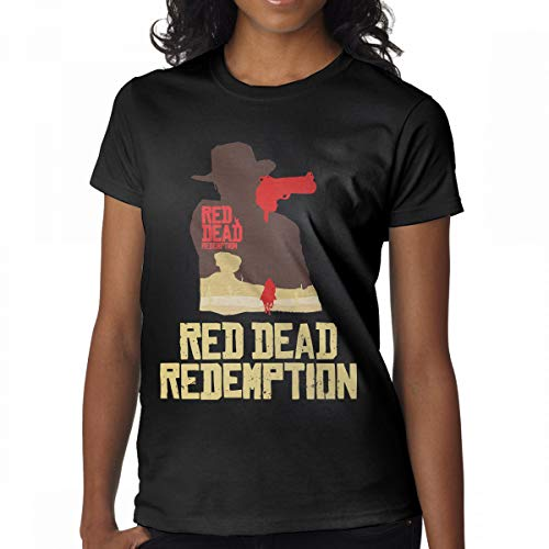Price comparison product image Avis N Women's Red Dead Redemption Tees Black M