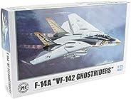 Premium Hobbies F-14A VF-142 Ghostriders 1:72 Plastic Model Airplane Kit 125V
