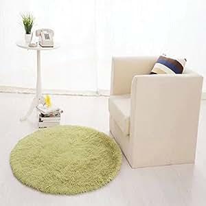 Lavable Pastoral alfombra de suelo redonda/cuna Pad/alfombrillas/cojín para silla de ordenador/alfombrilla de yoga