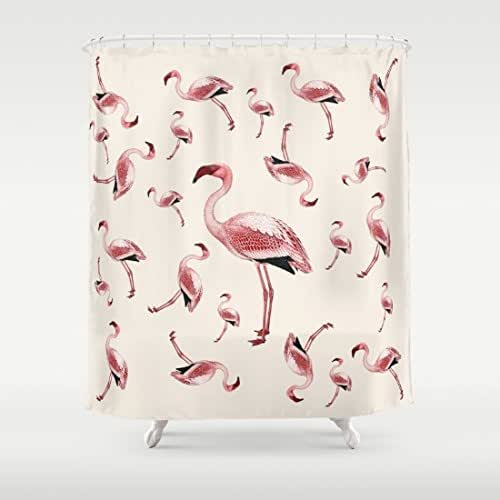 Amazon.com: Flamingo Party Pink And Cream Kitsch, Retro