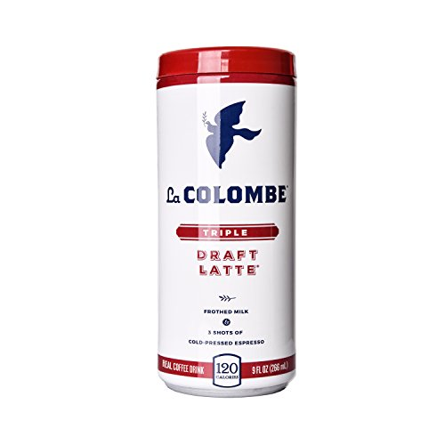 La Colombe Triple Draft Latte - 9 Fluid Ounce, 4 Count - 3 Shots Of Cold-Pressed Espresso and Frothed Milk - Made With Real Ingredients - Grab And Go Coffee