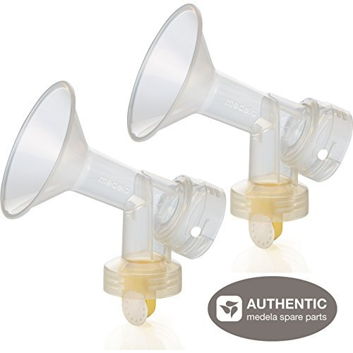 - Medela Breastshield (24 mm) with Valve and Membrane (Set of 2)