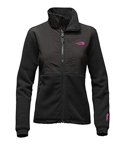 Women's The North Face Pink Ribbon Denali 2 Jacket TNF Black/Meadow Pink (The North Face Denali Jacket)