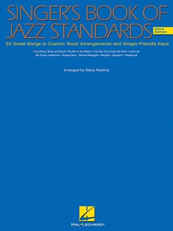 SINGER'S BOOK OF JAZZ STANDARDS MEN'S EDITION