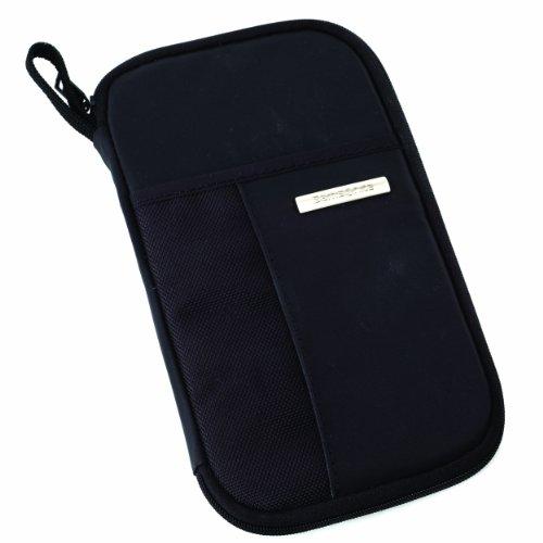 41R3Ex1On L - Samsonite Luggage Zip Close Travel Wallet, Black, One Size
