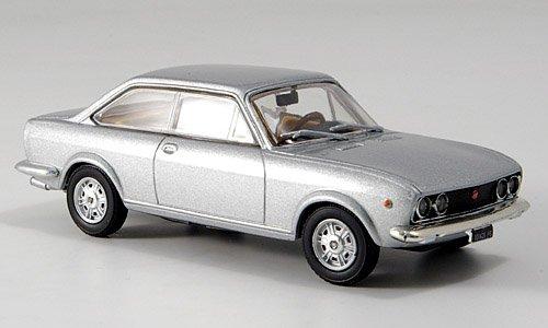 Modellauto MCW-SC20 1:43 Fertigmodell Fiat 124 Sport Coupe silber