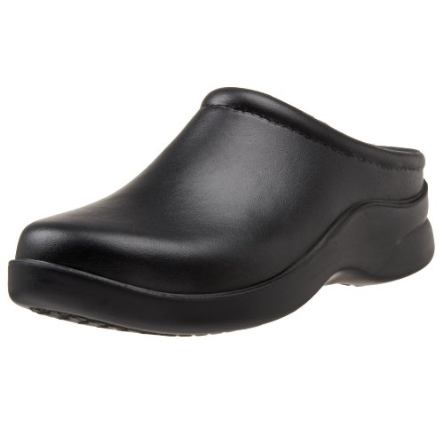 Klogs USA Women's Dusty Open Back Clog,Black,11 W US by Klogs