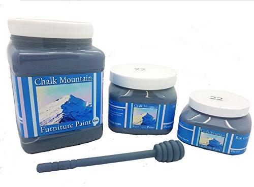 Chalk Mountain Supply Quality Chalk Furniture Paint- NON TOXIC-SAFE TO USE INDOORS- Superior Coverage-LOW ODOR & ZERO VOC (32oz) #29