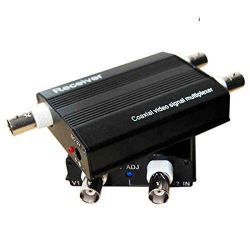 2Channel Video Multiplexer for 1 Coaxial Cable by E-link