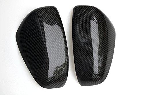 Eppar New Carbon Fiber Mirror Cover 2PCS for Nissan 370Z 2008-2017 (2008 Carbon)