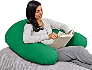 Yogibo Support Reading Pillow, Unique U-Shaped Backrest with Arms, Provides A Lift for Watching TV, Gaming, Wo
