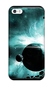 Anti-scratch And Shatterproof Hd Space Phone Case For Iphone 5/5s/ High Quality Tpu Case