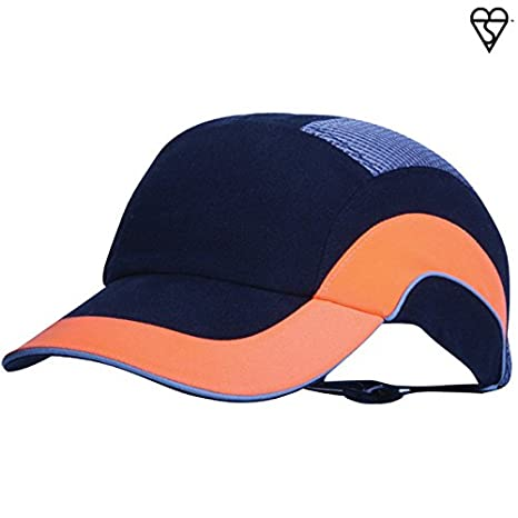 3a8283e6228f7f HardCap A1+ 282-ABR170-18 Standard Brim Baseball Style Bump Cap with HDPE  Protective Liner and Adjustable Back - - Amazon.com