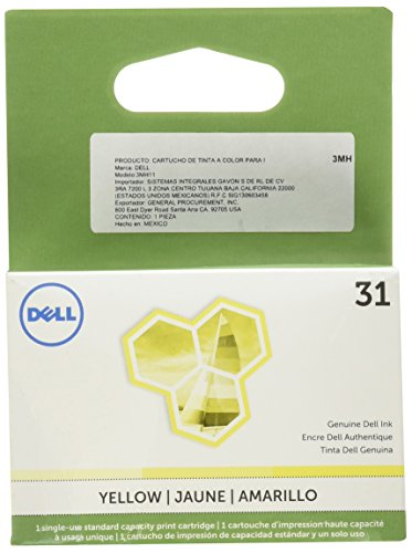 Dell 3MH11 Single Use Series 31 Ink SY for Dell V525w/V725w,