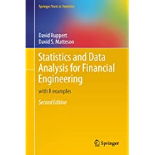 Statistics and Data Analysis for Financial Engineering: with R examples (Springer Texts in Statistics)