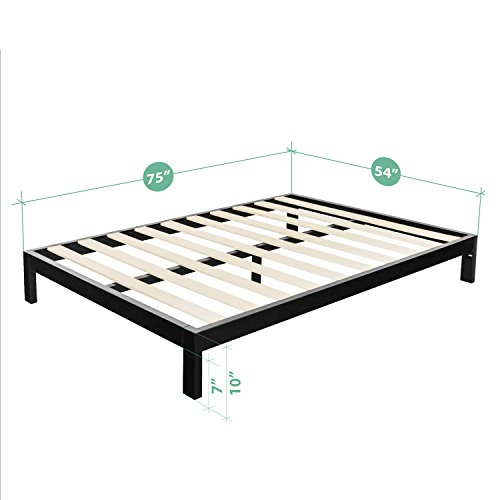 Zinus Modern Studio 10 Inch Platform 2000 Metal Bed Frame/Mattress Foundation, no...