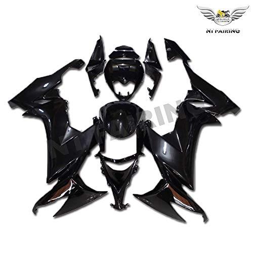 New Glossy Black Fairing Fit for Kawasaki Ninja 2008 2009 2010 ZX10R ZX-10R Injection Mold ABS Plastics Aftermarket Bodywork Bodyframe 08 09 10