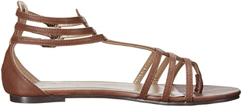 Ellie Shoes Women's 015-Rome Flat Brown L77m69wGC