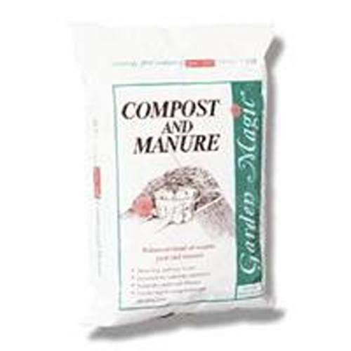 Michigan Peat 5240 Garden Magic Compost and Manure, 40-Pound 40 Lb Potting Soil