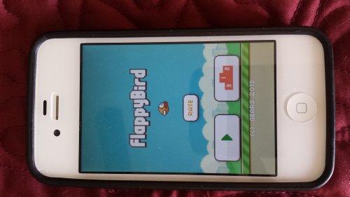 Iphone 4 32gb flappy bird