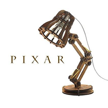 Amazing Pixar Lamp|Wooden Luxo Jr. Light
