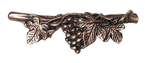 DArtefax DHP24-BRZ Grapevine Pull-Horizontal44; Antique Bronze
