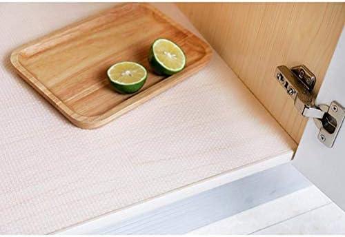 Comtervi Multifunctional Fridge Pad Mat Moisture and Odour Non-Slip Washable and DIY Cut to Size Fridge Mats White