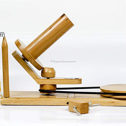 Hand Operated Premium Crafted Knitting & Crochet Ball Winder | Knitter's Gifts Center Pull Ball Winder | Nagina International by Nagina International (Image #1)