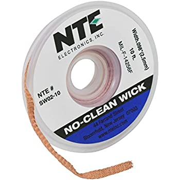5 ft. SW-3 Desoldering Wire Roll in Handy Dispenser