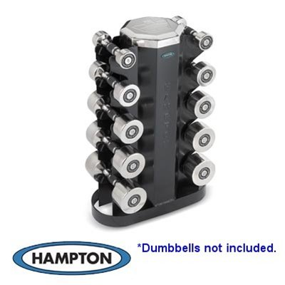 2 Sided Vertical Rack Accommodate 5 Pair Dura Bell Or Chrome