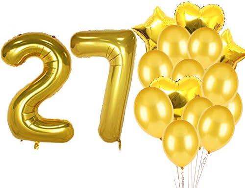 بالونات عيد ميلاد ارقام 27