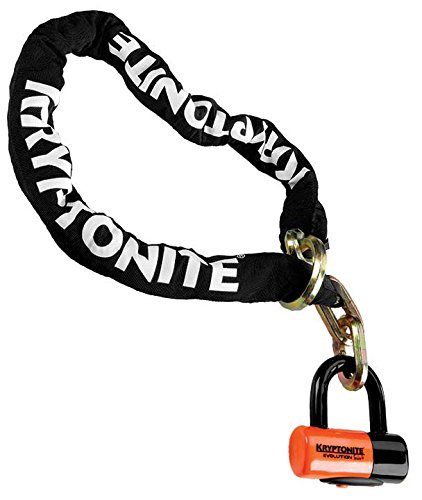 Padlock Bike Lock - Kryptonite New York Noose 1213 Bicycle Chain Lock