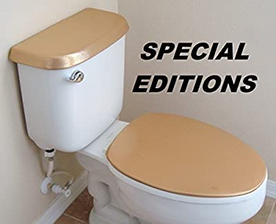 Special Shiny Edition of Cover for a lid toilet TANK fits on standard / elongated Models - New concept - HandMade in USA
