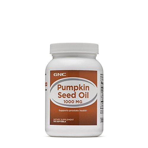 GNC Pumpkin Seed Oil 1000 MG Review