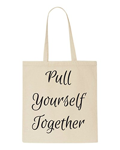Yourself Shopper Up Statement Tote Beige Pull Bag Together Make B4dwfxtWRq
