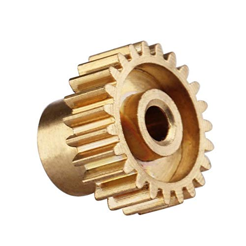 BeesClover 11153 Motor Gear (23T) Spare Parts for HSP Racing Redcat 1:10 RC Model Car TY As Show ()