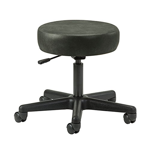Ergonomic 5-Leg Pneumatic Doctor Exam Stool Gunmetal