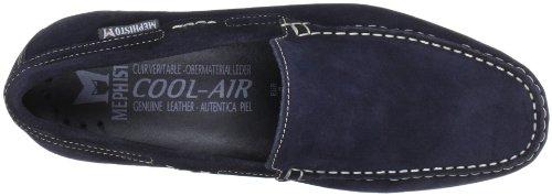 Velours Velours Blau Blue Algoras Derby da Jeans 9895 uomo Jeans 9895 Blue Mephisto Blu Z17Cw5xqw