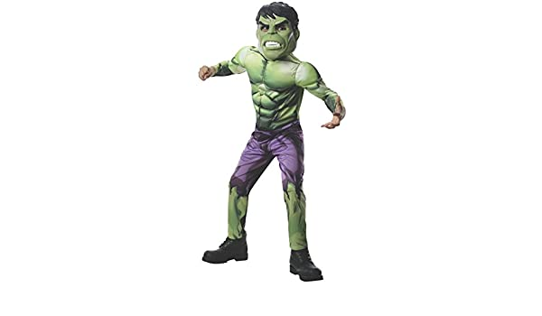 Avengers Assemble: Hulk Deluxe Kids Costume