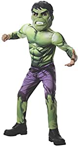 Rubie's Marvel - Hulk Deluxe Child Costume, Size S (3-4Yrs) Costume