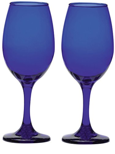 Circleware 44309 Uptown Colbalt Glassware Products, 13 oz, Cobalt