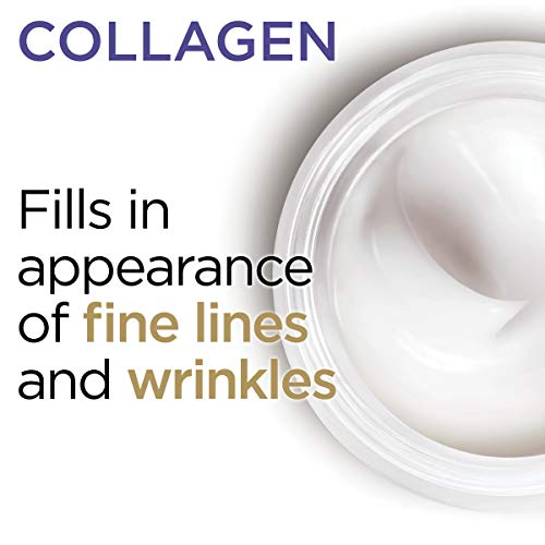 Collagen Face Moisturizer by L'Oreal Paris Skin Care I Day and Night Cream I Anti-Aging Face Cream to Smooth Wrinkles I Non-Greasy I 1.7 oz.