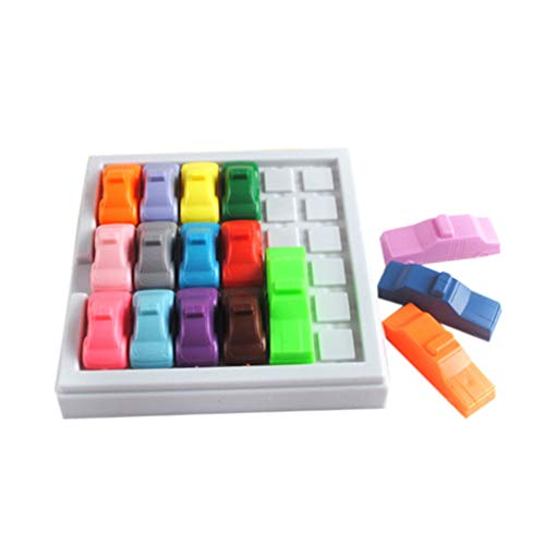 Tuu Busy Hour Puzzle Game Fun Rush Hour Traffic Jam Logic Game Toy for Kids (Multicolor) from Tuu