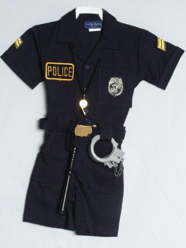 Children's Police Uniform Outfit (7) (Girls Police Outfit)