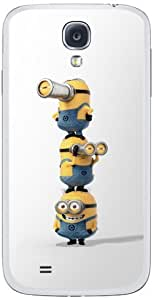 Zing Revolution MS-DMT200456 Despicable Me 2 - Watch Cell Phone Cover Skin for Samsung Galaxy S4 - Retail Packaging - Multicolored