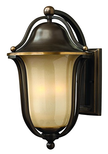 - Hinkley 2635OB Transitional Three Light Wall Mount from Bolla collection in Bronze/Darkfinish,