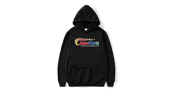 Amazon.com: Small family ASTROWORLD 2019 Print Hooded Hoodies Men/Women Clothes Hoodie Sweatshirt Male Harajuku Hip Hop -1PC (Black, XL): Clothing